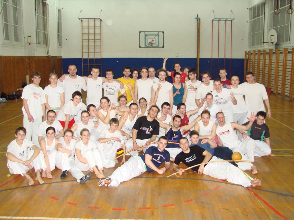 Ekipa Amazonas ZG i Capoeira Rijeka