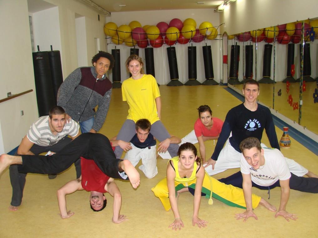 Na jednom od treninga u studenom 2006.